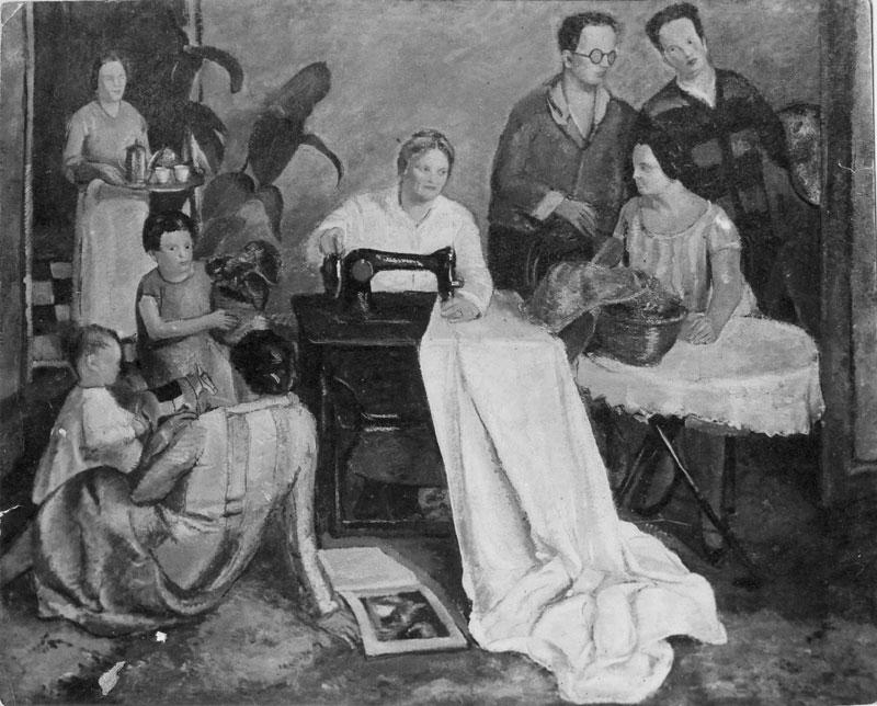 Amato Opera Ritratto di Famiglia - Emanuele Cavalli - pittore, fotografo WS57
